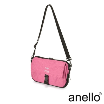 anello THE DAY 多收納輕巧斜背包 粉紅色