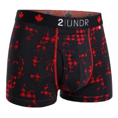 2UNDR Swing Shift 莫代爾吸排四角內褲(3吋)-TRUE DOE