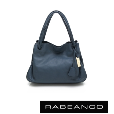 RABEANCO OL時尚粉領系列柔軟肩背包 墨水藍