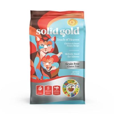 Solid gold速利高-他只是個毛孩-幼貓健康成長超級寵糧 3LBS/1.36KG