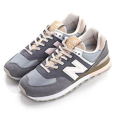 New Balance TIER 2 574 男女復古慢跑鞋 ML574BSG-D 灰
