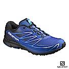 Salomon 野跑鞋 男 SENSE MANTRA 3 藍黑