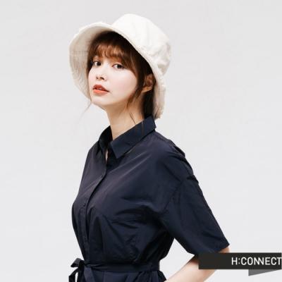H:CONNECT 韓國品牌 配件 -純棉毛邊漁夫帽