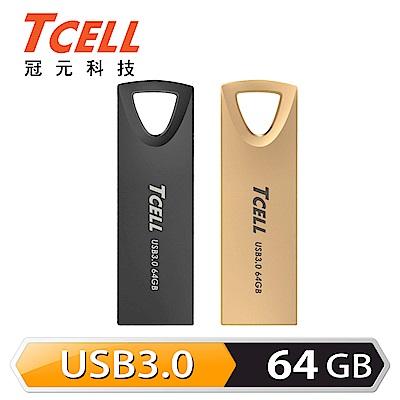 TCELL冠元-USB3.0 64GB 浮世繪鋅合金隨身碟
