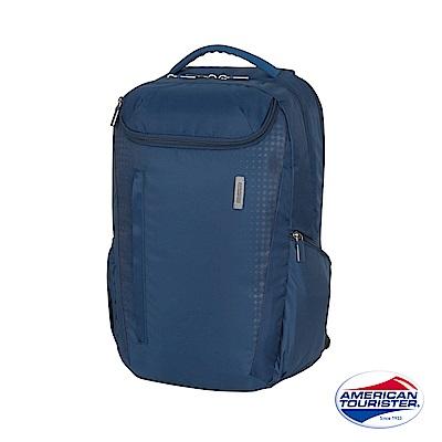 AT美國旅行者 Logix 多功能可拆式筆電後背包(藍)