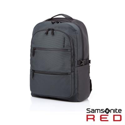 Samsonite RED HAESOL 實用現代款筆電後背包M 15.6吋(灰)