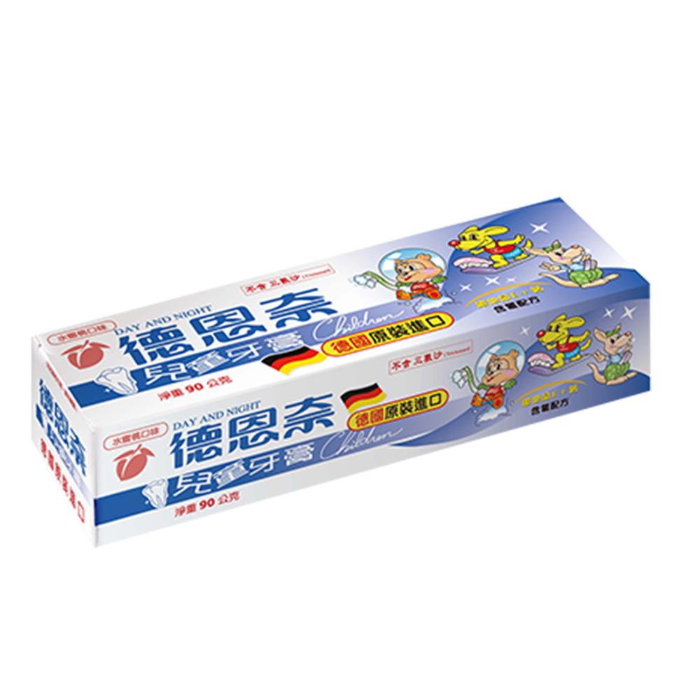 德恩奈 兒童牙膏水蜜桃口味90g