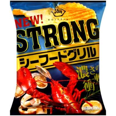 湖池屋 STRONG洋芋片-海鮮BBQ(56g)