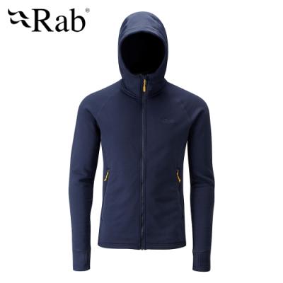 【RAB】Power Stretch Pro 保暖刷毛外套 男款 深墨藍 #QFA93