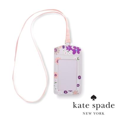 KATE SPADE 落英繽紛證件卡夾 Pacific Petals