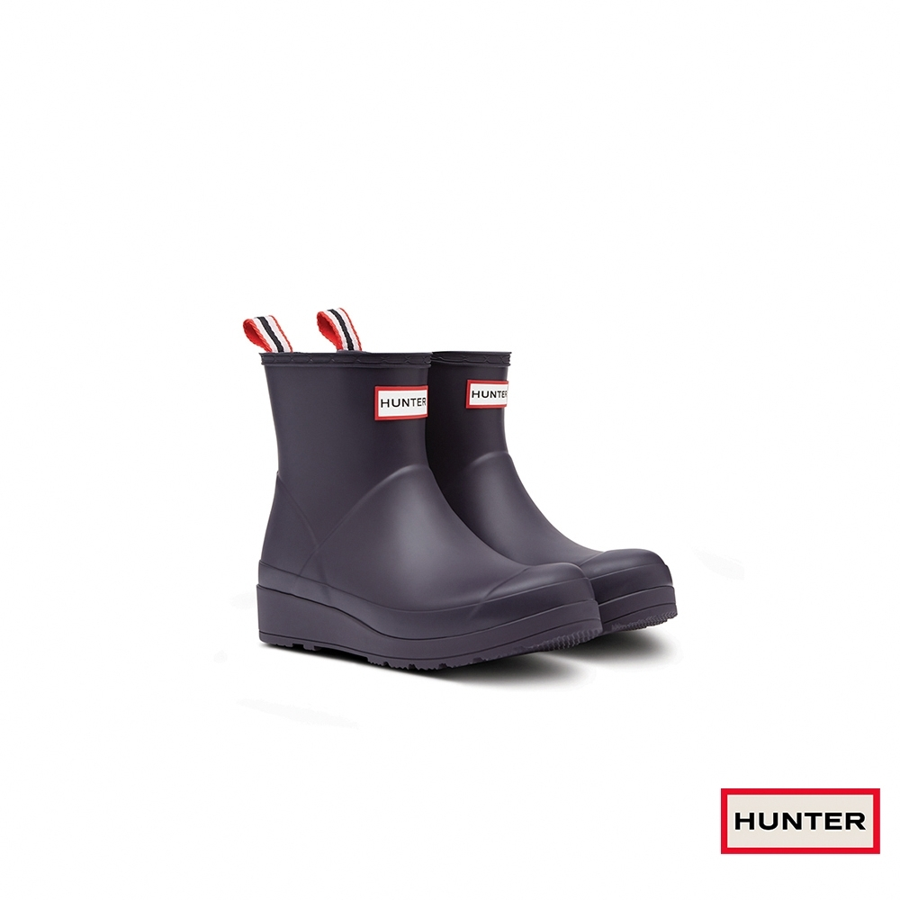 HUNTER - 女鞋 - PLAY霧面短靴 - 黑