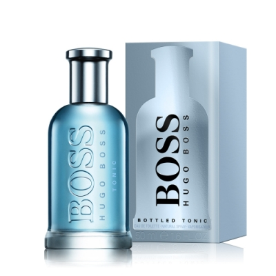 Hugo Boss 勁藍自信男性淡香水 Bottled Tonic 50ml EDT