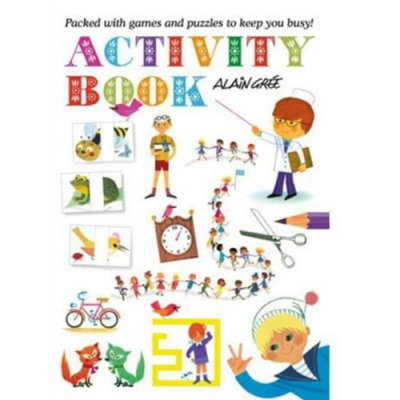 Alain Gree Activity Book 繪畫勞作活動書