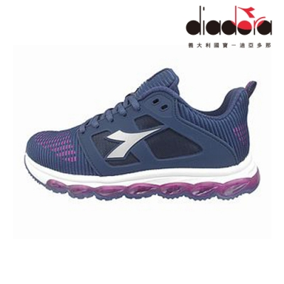 Diadora 女輕量慢跑鞋 紫 DA9AWR7657