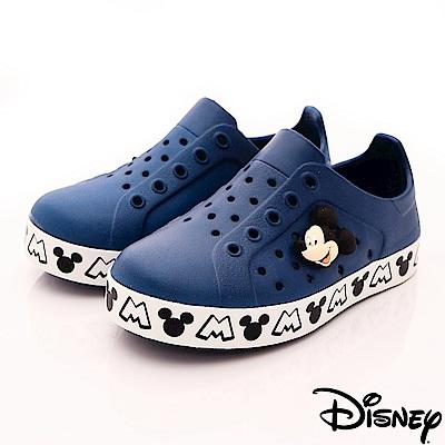 迪士尼童鞋 米奇洞洞休閒鞋款 ON18137藍(中小童段)