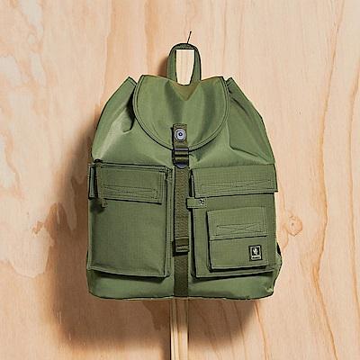 PORTER - 工裝展演TRADE工裝實用後背包 - 橄欖綠