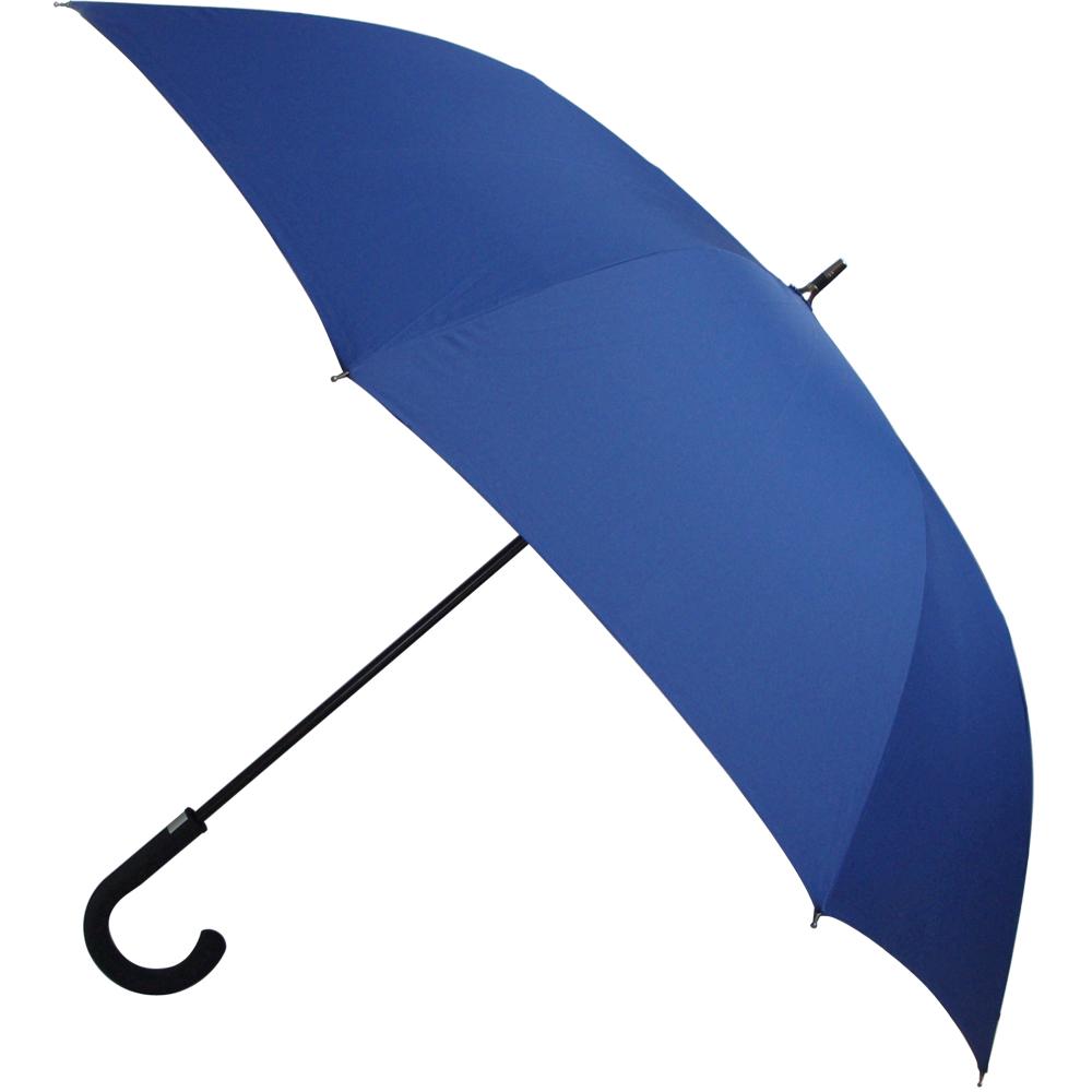 wepon 玻纖防風自動高爾夫球傘-深藍色