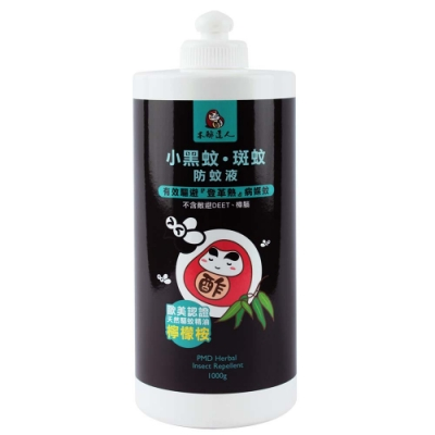 【木酢達人】小黑蚊斑蚊專用防蚊液補充罐1000g