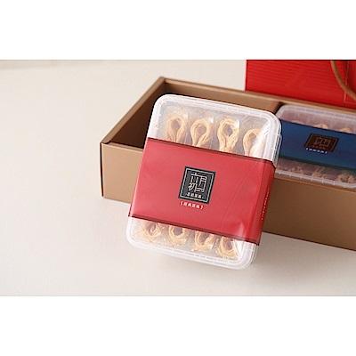 六月初一 八結蛋捲禮盒(經典原味蛋捲 香醇芝麻蛋捲)512g*1組