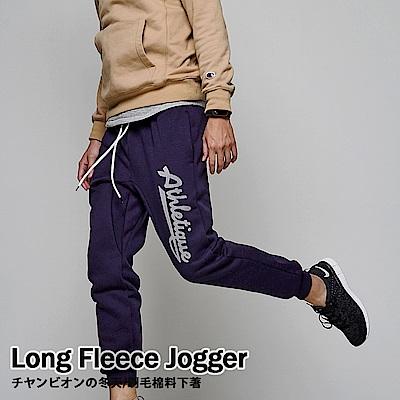 DITION 美式絨布ATHLE 低檔縮口棉褲 抽繩跑褲 健身運動褲
