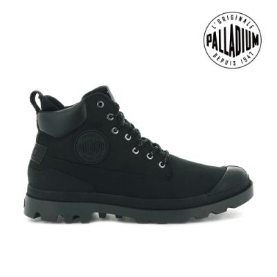 PALLADIUM PAMPA SC OUTSIDER WP+皮革防水靴-中性-黑