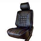 【葵花】量身訂做-汽車椅套-日式合成皮-開運方格-A款-休旅車9人座1-3排