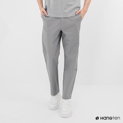 Hang Ten-男裝-STRAIGHT FIT直筒九分褲-灰色