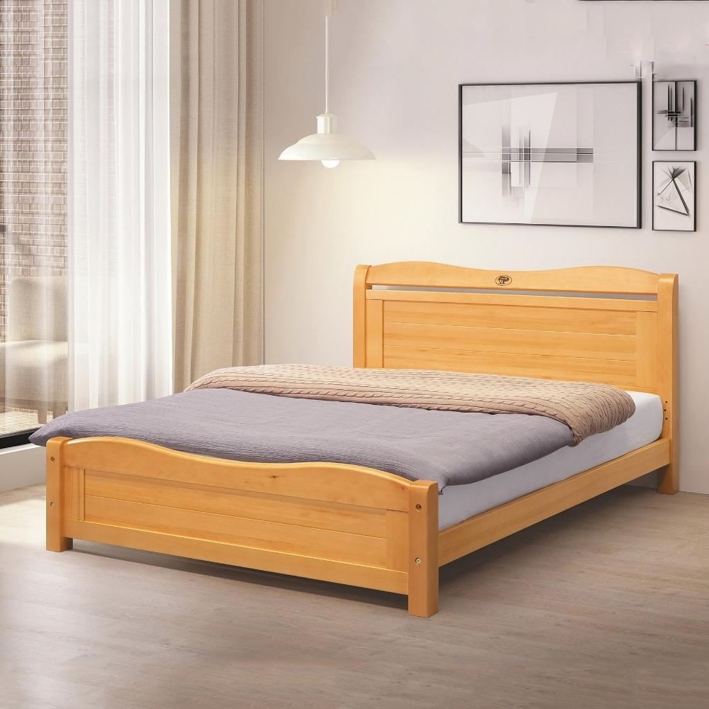 MUNA 潔西5尺雙人床(5分實木床板) 155.5X201X92.5cm