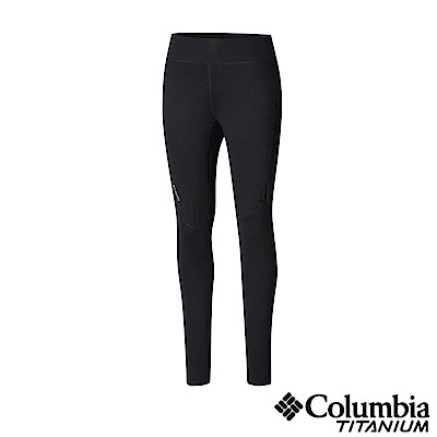 Columbia哥倫比亞 女款-鈦Omni-HEAT 3D鋁點保暖快排長褲