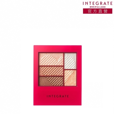 INTEGRATE 三度漸層光綻眼影盒BR703