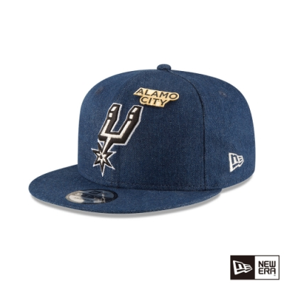 NEW ERA 9FIFTY 950 NBA 丹寧 馬刺 棒球帽