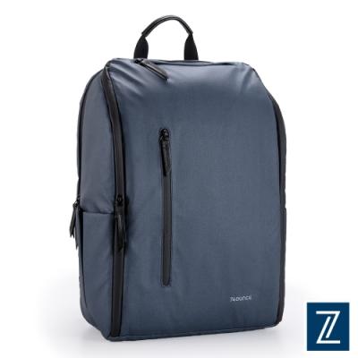 74盎司 Witty 休閒商務造型後背包(15吋)[G-1073-WI-M]藍