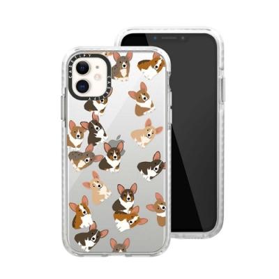 Casetify iPhone 11 耐衝擊保護殼-搗蛋柯基