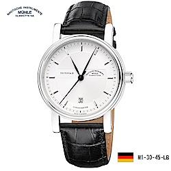 格拉蘇蒂·莫勒 經典系列-日耳曼時計 M1-33-75-LB 機械男錶 全球限量250枚
