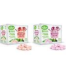 【紐西蘭 Kiwigarden】益菌優格豆 x兩盒組(新鮮草莓+綜合莓果 各1盒)