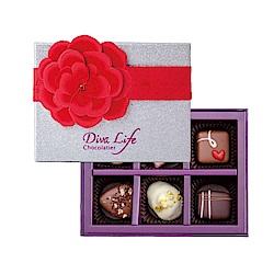 Diva Life 夏季版 經典6入禮盒(比利時夾心巧克力)