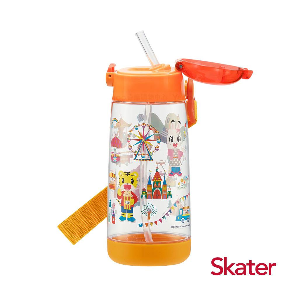Skater PET吸管水壺(480ml) 巧虎
