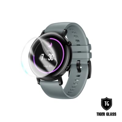 T.G HUAWEI WATCH GT2 42mm 高透3D防爆水凝膜螢幕保護貼-滿版(2入)