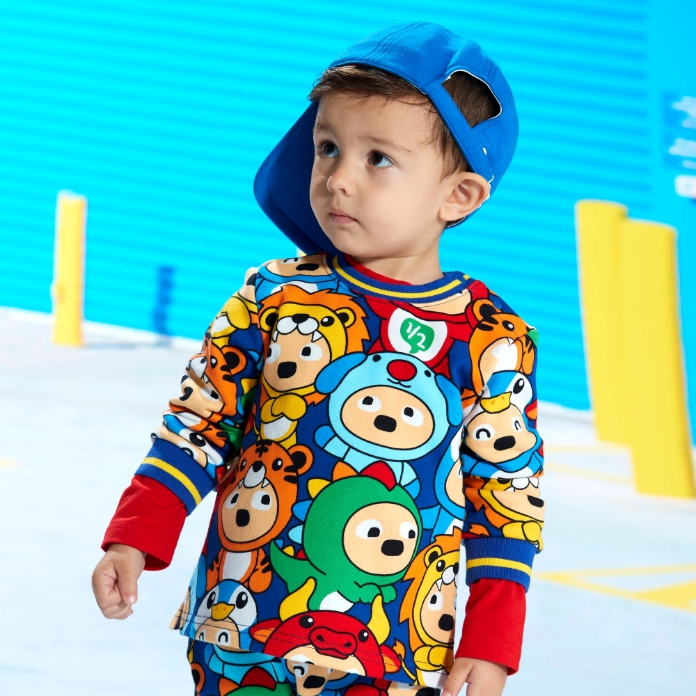 WHY AND 1/2 mini 印花棉質T恤 1Y~4Y product image 1