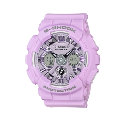 CASIO G-SHOCK/魅力圈專屬時尚運動腕錶/GMA-S120DP-6ADR