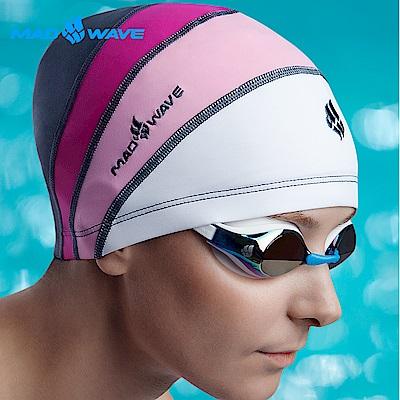 俄羅斯MADWAVE 女童專用萊卡泳帽LONG HAIR