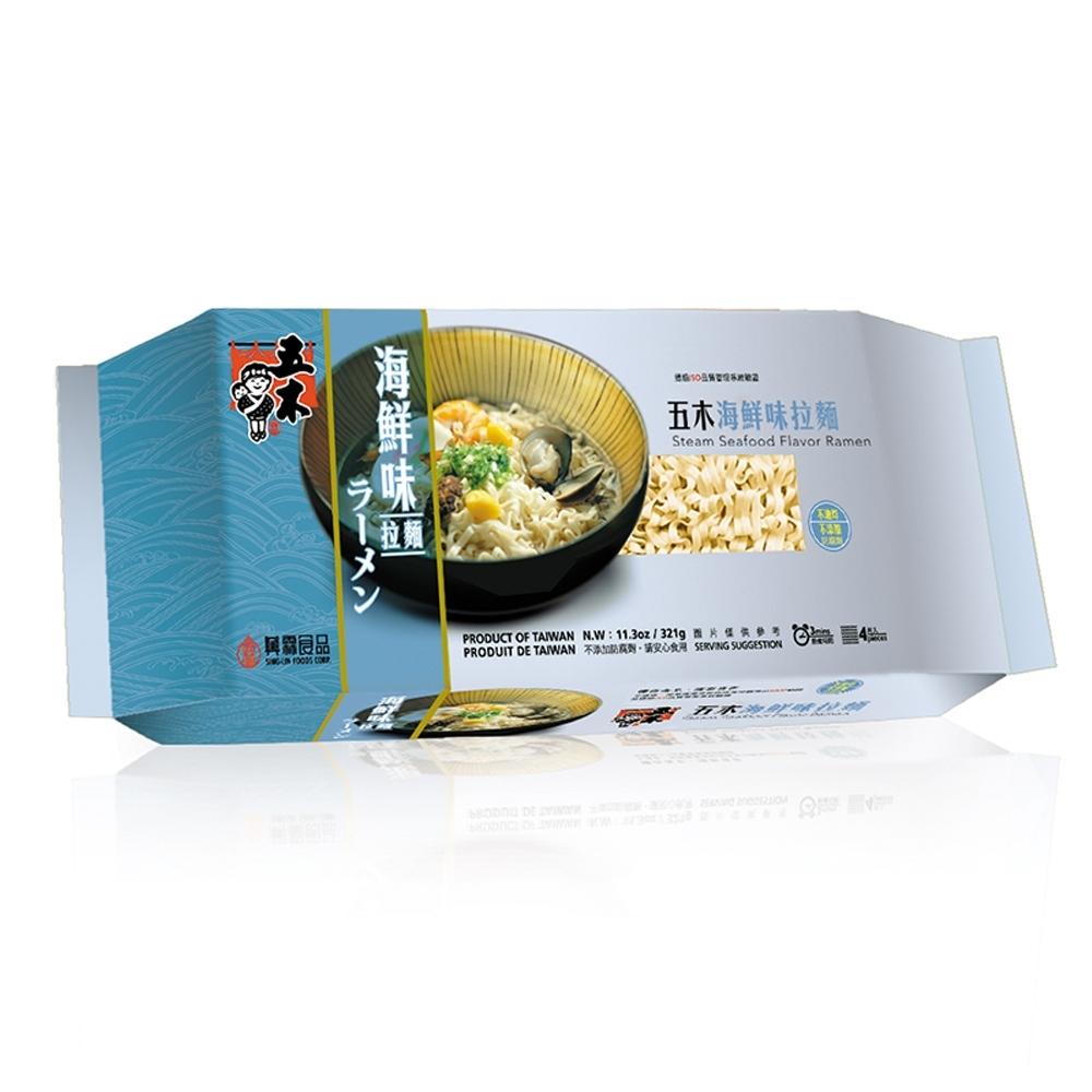 五木  海鮮味拉麵(321g/包)