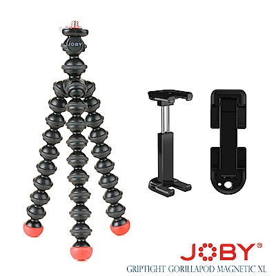 JOBY 磁力手機夾腳架 GripTight GorillaPod Magnetic XL