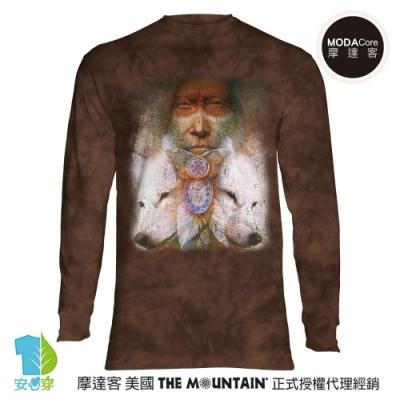 摩達客 預購 美國The Mountain 神聖轉變 純棉長袖T恤