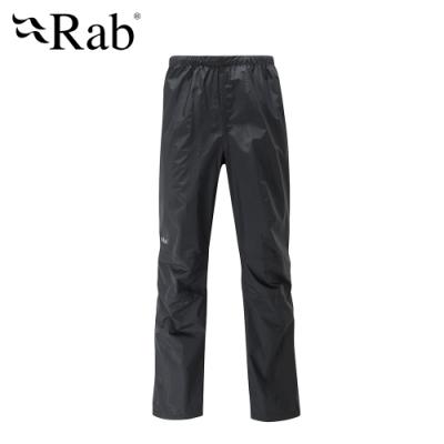 【RAB】Downpour Pants 高透氣防水長褲 男款 黑 #QWF62