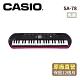 CASIO卡西歐 原廠直營44鍵迷你電子琴兒童.幼兒適用SA-78-P4(粉紅色含變壓器) product thumbnail 1