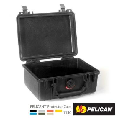 美國 PELICAN 1150NF 氣密箱-空箱(黑)