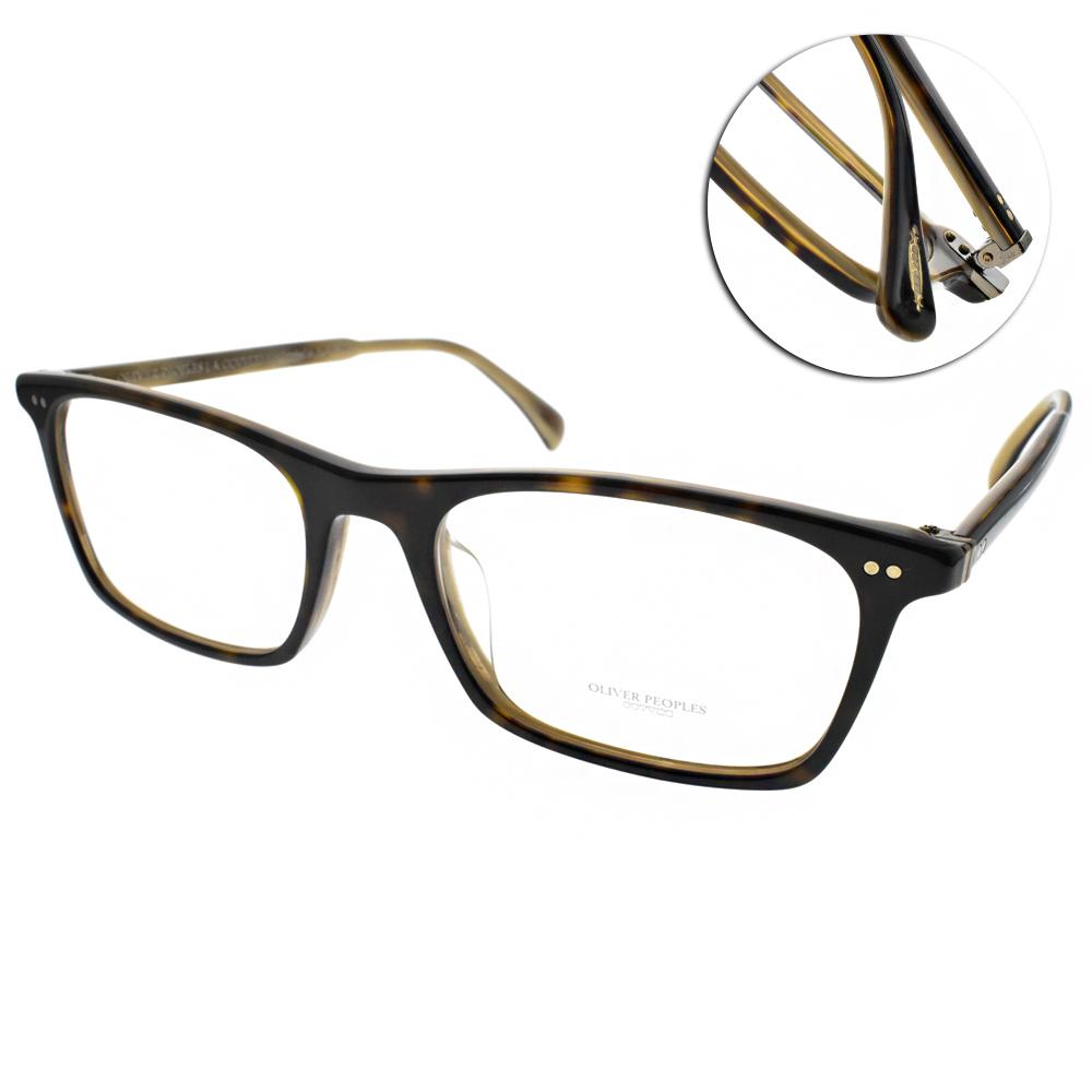 OLIVER PEOPLES眼鏡 復古經典/深琥珀 #TERIL 1666