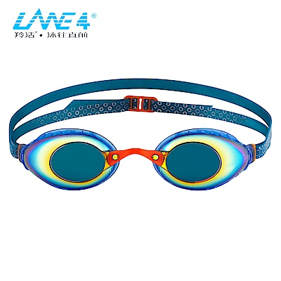 LANE4羚活 A935 女性專用電鍍防霧泳鏡