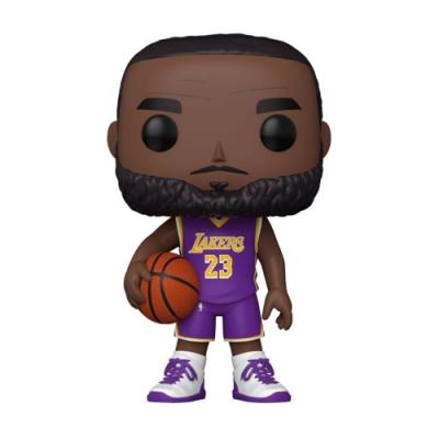 Funko POP NBA 大頭公仔 10吋加大版 湖人隊 LeBron James 紫色